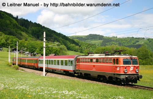 Foto zeigt: Erhöhtes Frachtaufkommen auf der Salzkammergutbahn
