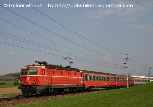 Foto zeigt: Eilzugverkehr auf der Salzkammergutstrecke