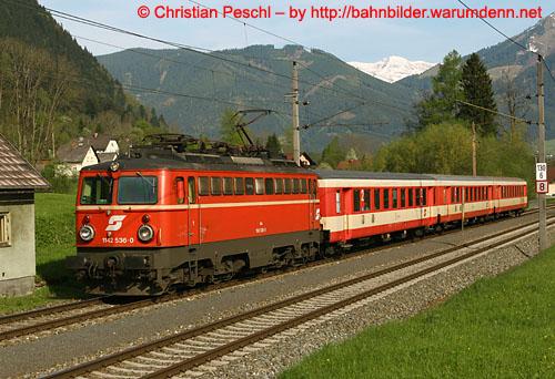 Foto zeigt: Bildnachtrag: Bahnklassik Ennstal 13. & 14. Mai .2005