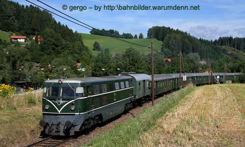 Foto zeigt: Desperate Railtours in Kärnten
