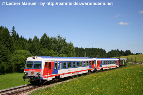 Foto zeigt: Interessante Mühlkreisbahn