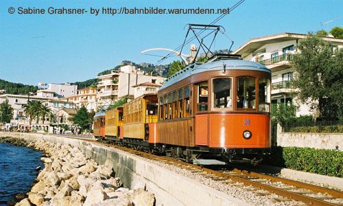 Foto zeigt: Faszination Inselbahnen auf Mallorca