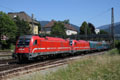 am Foto: SZ 541.002 mit EC in Villach West