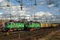 zum Foto  Green Cargo Rc4 1254 neben Rc4 1322  Nässjö C