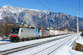 am Foto: Railpool 186.286 + 186.282 mit Ekol in Thörl-Maglern