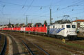Foto zeigt:Privatbahn - Locomotion - 139.133 + 9 Stk. 212 (Freilassing)