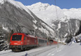 am Foto: 1216.016 / E 190 016 in Mallnitz-Obervellach
