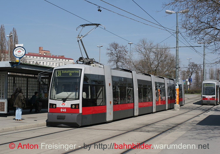 strassenbahn wien 646 b ulf friedrich engels platz. Black Bedroom Furniture Sets. Home Design Ideas