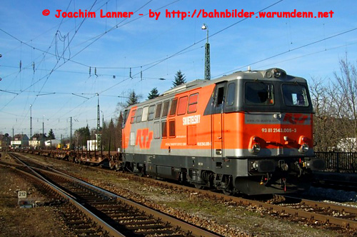 Foto zeigt: RTS-2143 in Freilassing