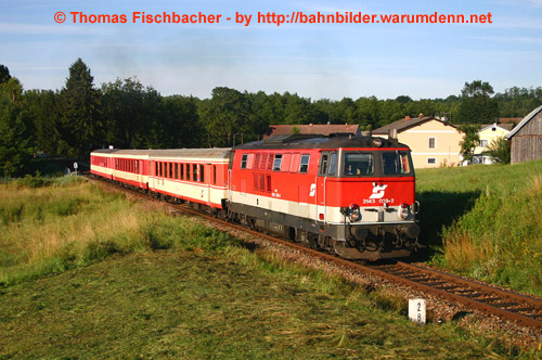 Foto zeigt: Diesel rund um Schwarzenau
