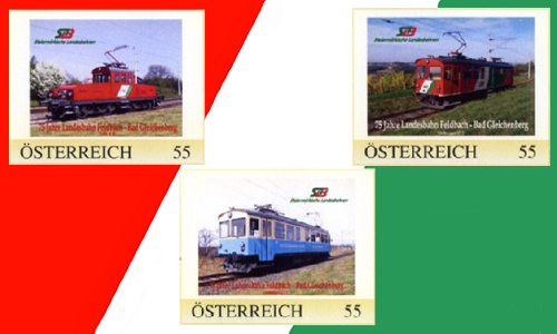 Fenster Bad Gleichenberg :  Jahre Landesbahn Feldbach  Bad Gleichenberg in neuem Fenster öffnen