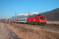 am Foto: 1116.135 mit InterCity bei Rothenthurn