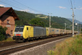 am Foto: Lokomotion 189.930 mit Ewals-Cargo-Care (Rothenthurn)