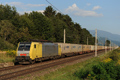 am Foto: Lokomotion 189.930 mit Ewals-Cargo-Care (Tauernachse)