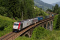 am Foto: Lokomotion 185.665 + Railpool 186.284 (Tauernbahn)
