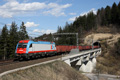 Foto zeigt:InRail E190.312 mit Eaos-Ganzzug (Tarvisio Boscoverde)