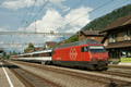 am Foto: SBB Re 460.004 mit InterCity (Schweiz)
