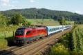 "Foto zeigt: 1116.200 RailJet-Design ""Spirit of Vienna"" (Kappel am Krappfeld)"