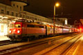 am Foto: 1042.007 mit EuroNight (Graz)